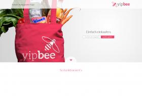 Yipbee Landing Page