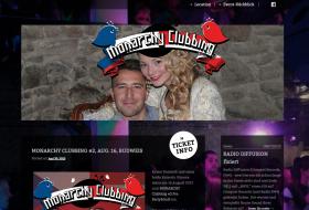 RAUBVOGEL MONARCHY Clubbing